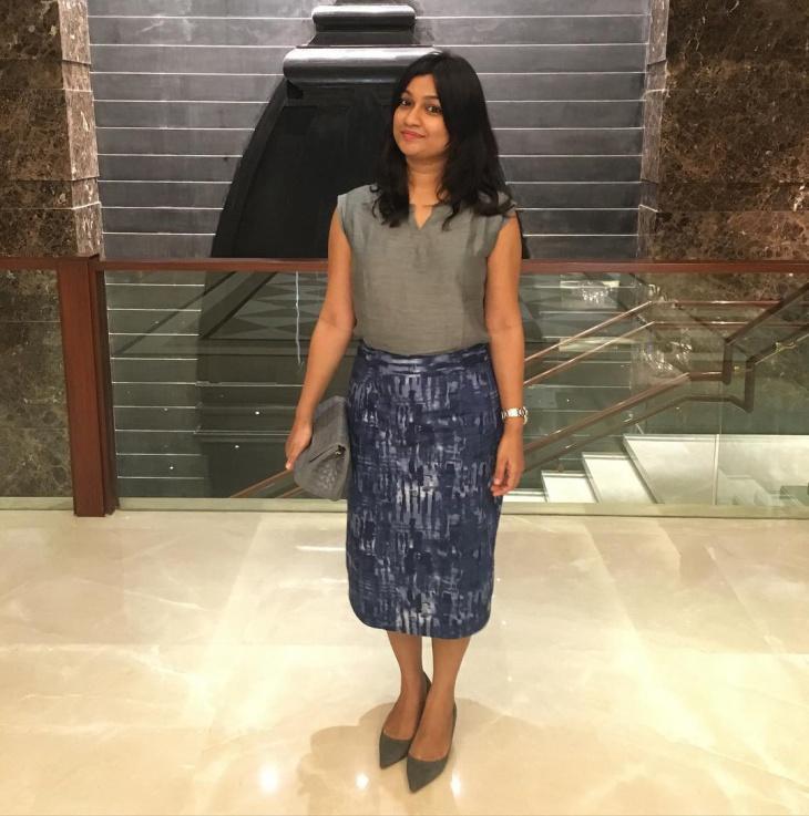 formal sheath skirt for women