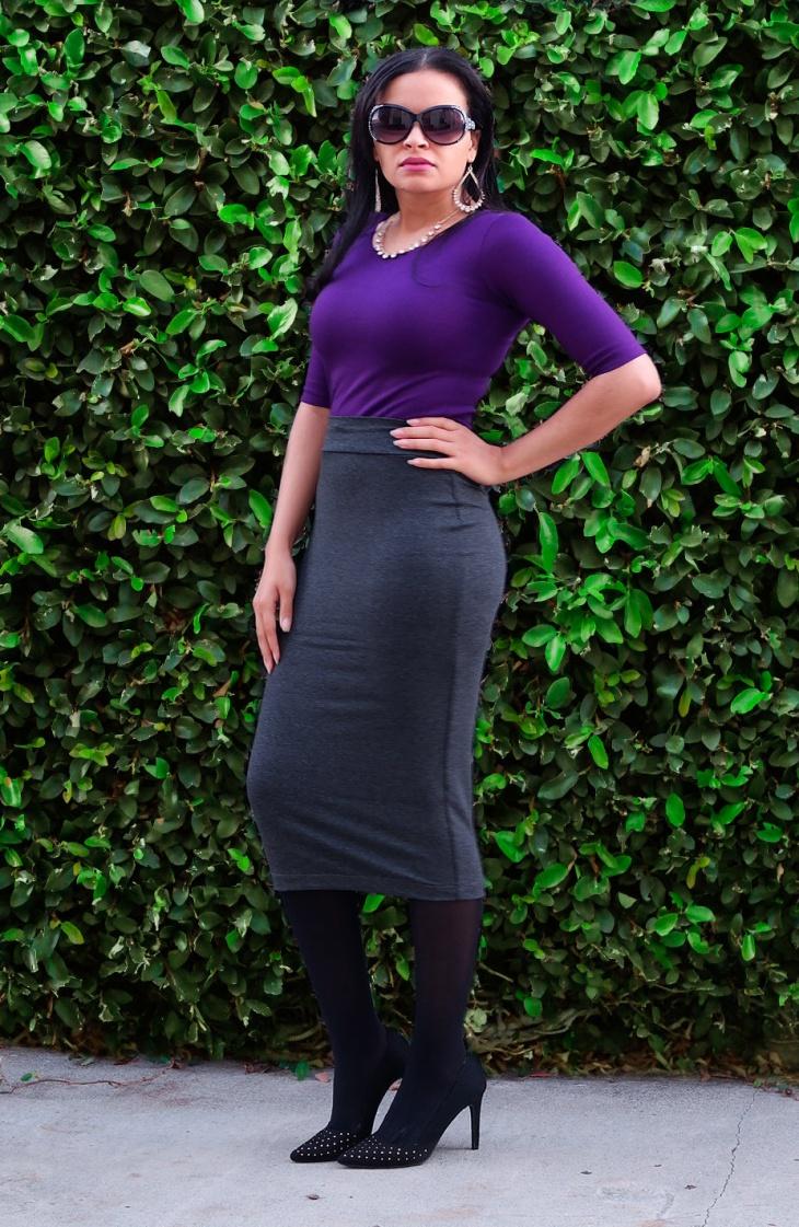 simple sheath skirt idea