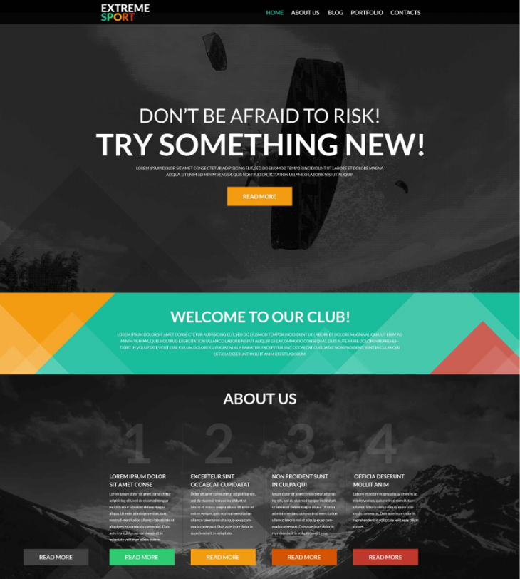 WordPress Sports Media Theme