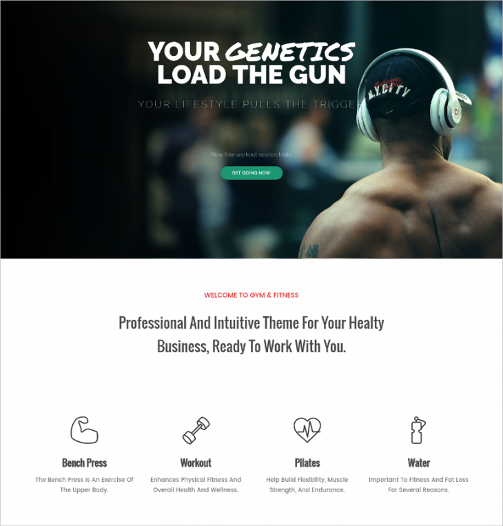 Multipurpose Sports WordPress Theme