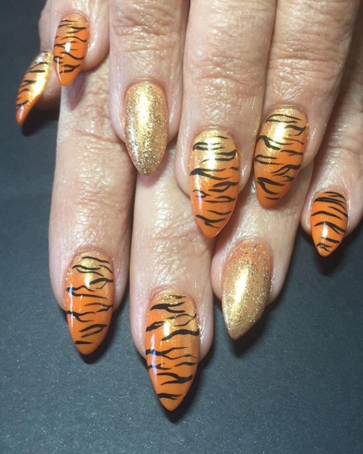 Wild Animal Nail Art