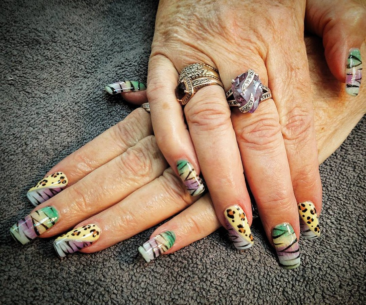 wild shellac nails idea