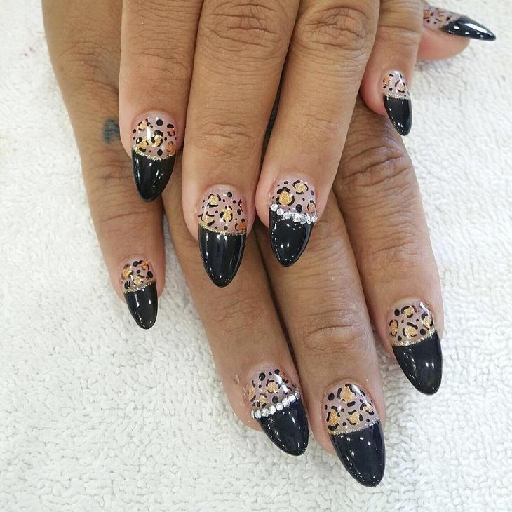 Crystal Wild Nails Idea