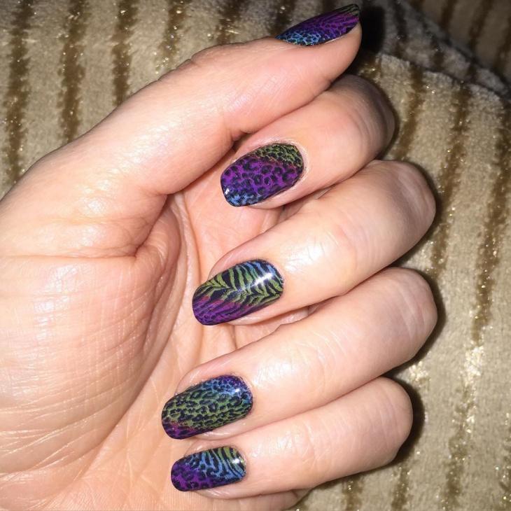 Unique Wild Nail Art Idea