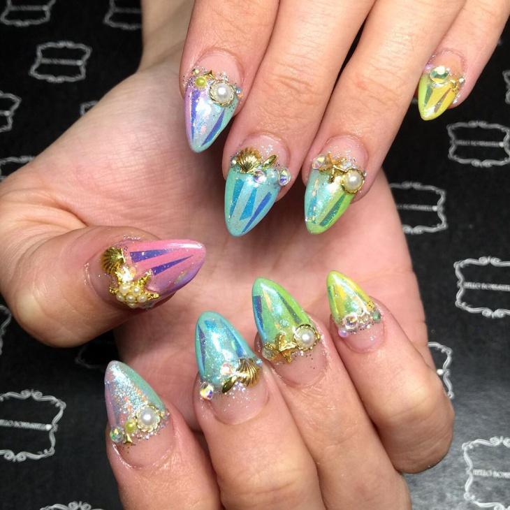 21 glass nail art designs ideas design trends premium psd 3d glass nail art idea prinsesfo Choice Image