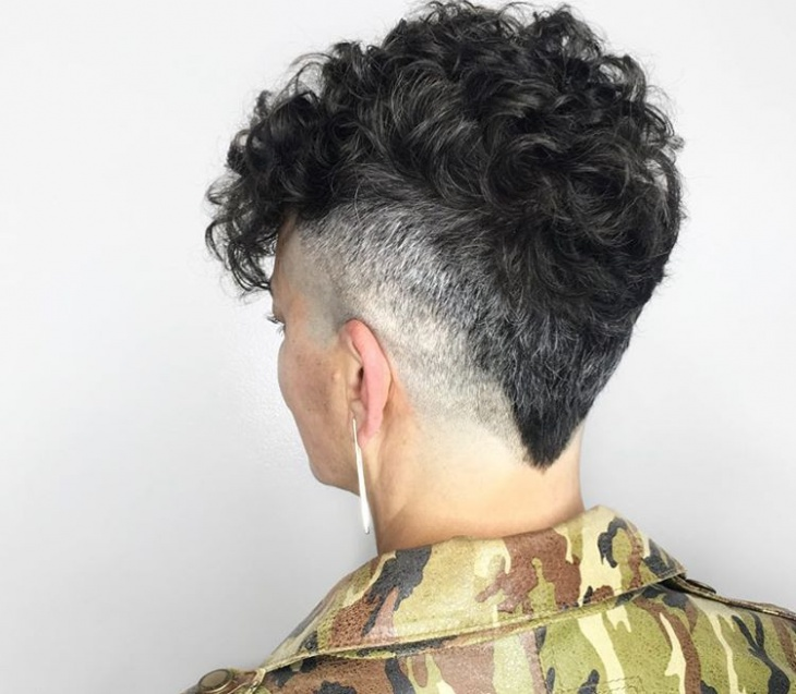 V Cut Fade Hairstyle