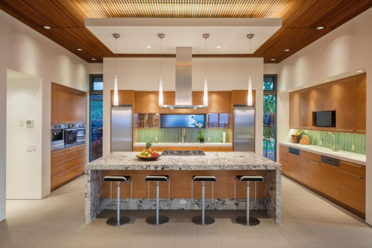 kitchen drop recessed ceiling lights