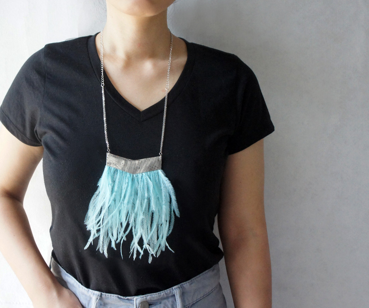 Urban Feather Necklace