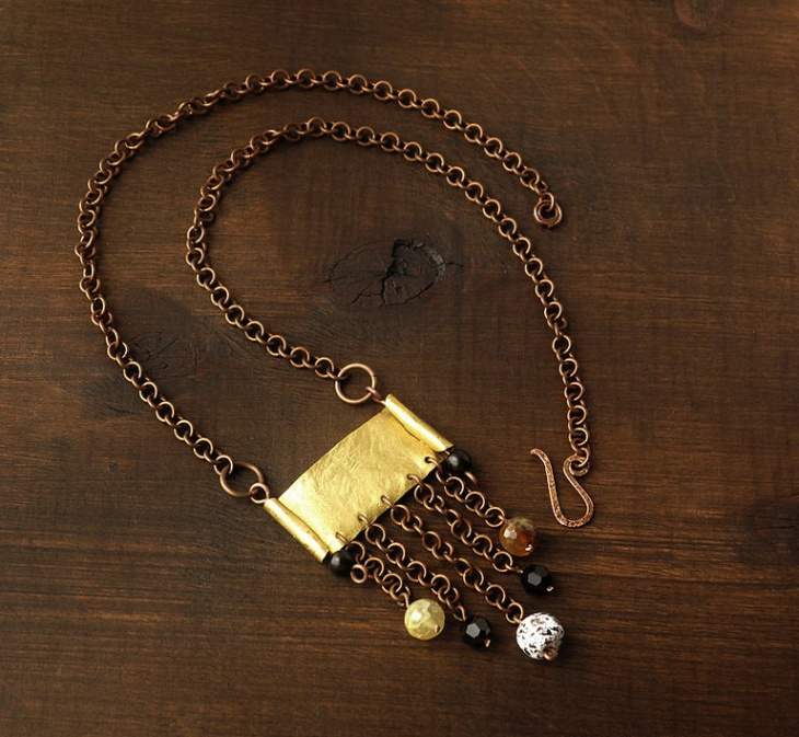 Copper and Brass Urban Jewelry