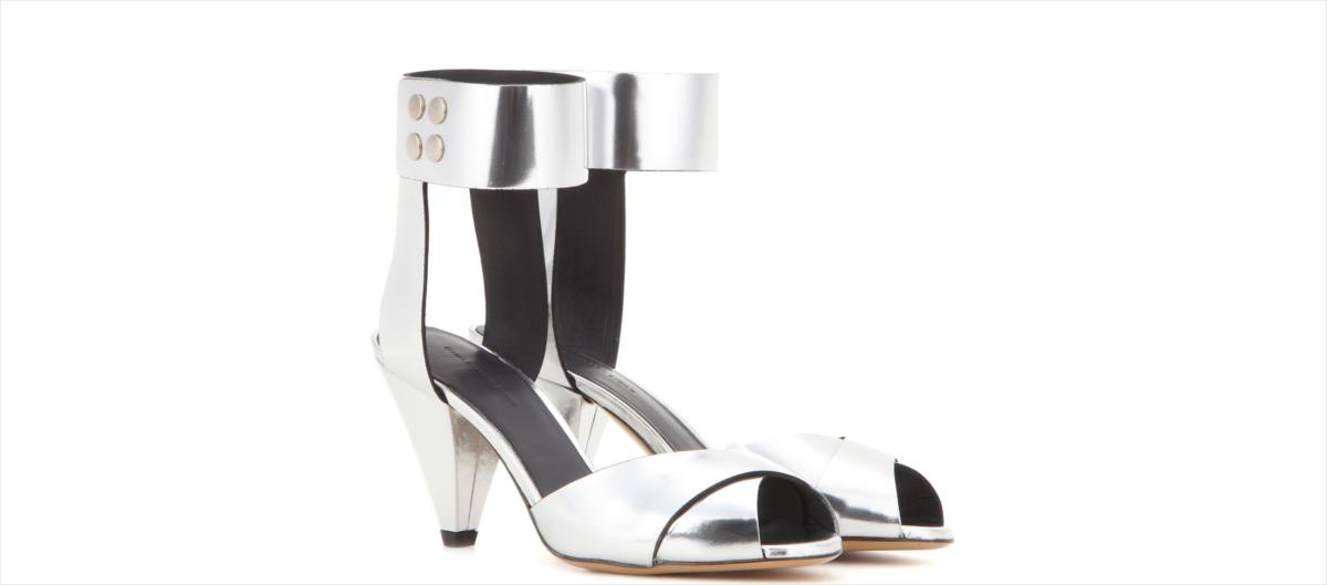 Isabel Marant Metallic Sandals