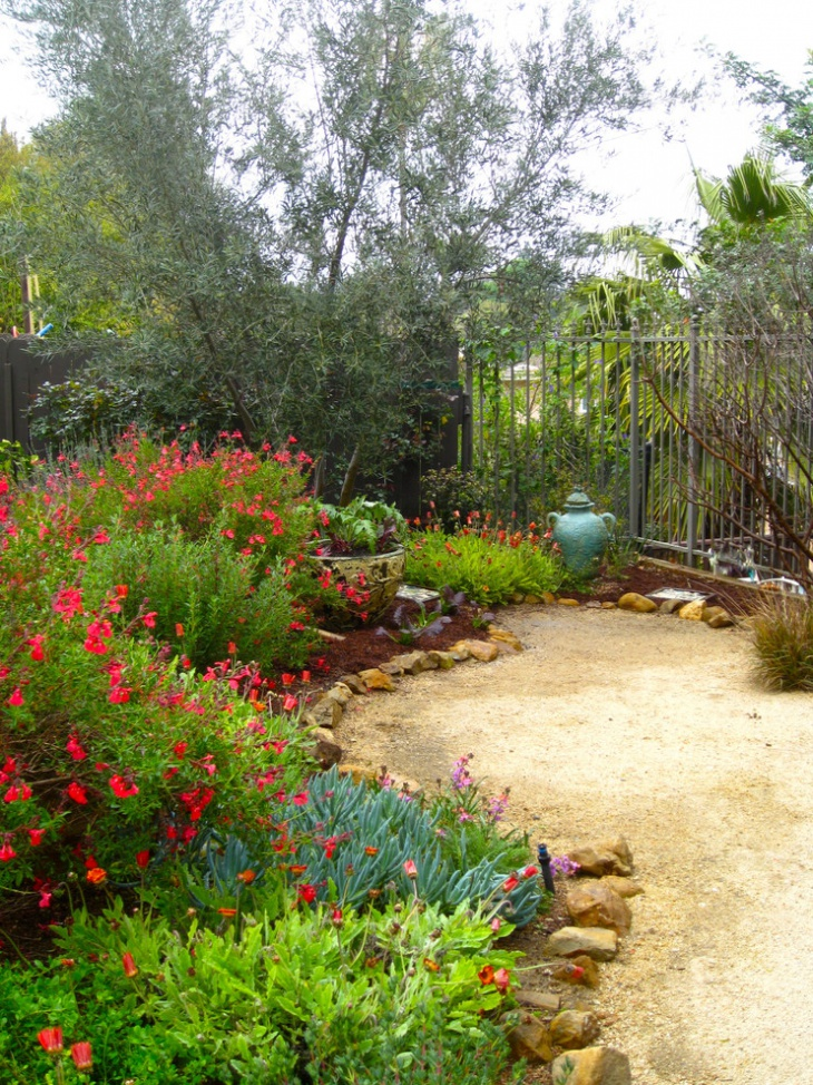 18 mediterranean garden designs ideas design trends for Garden design for small gardens pictures