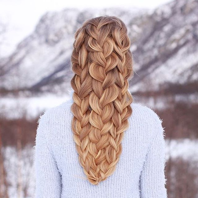 Triple Dutch Braid