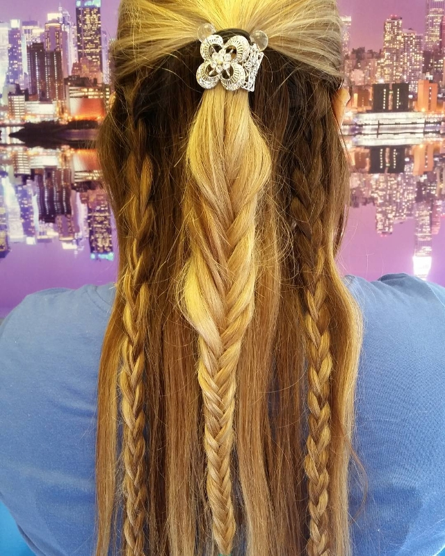 triple crown braid hairstyle