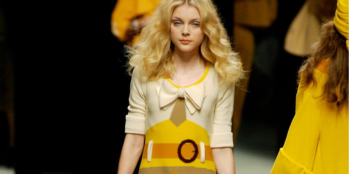 sonia rykiel 2008 spring fashion show