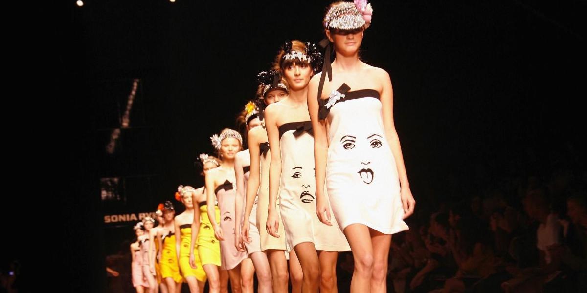 sonia rykiel 2007 spring fashion show