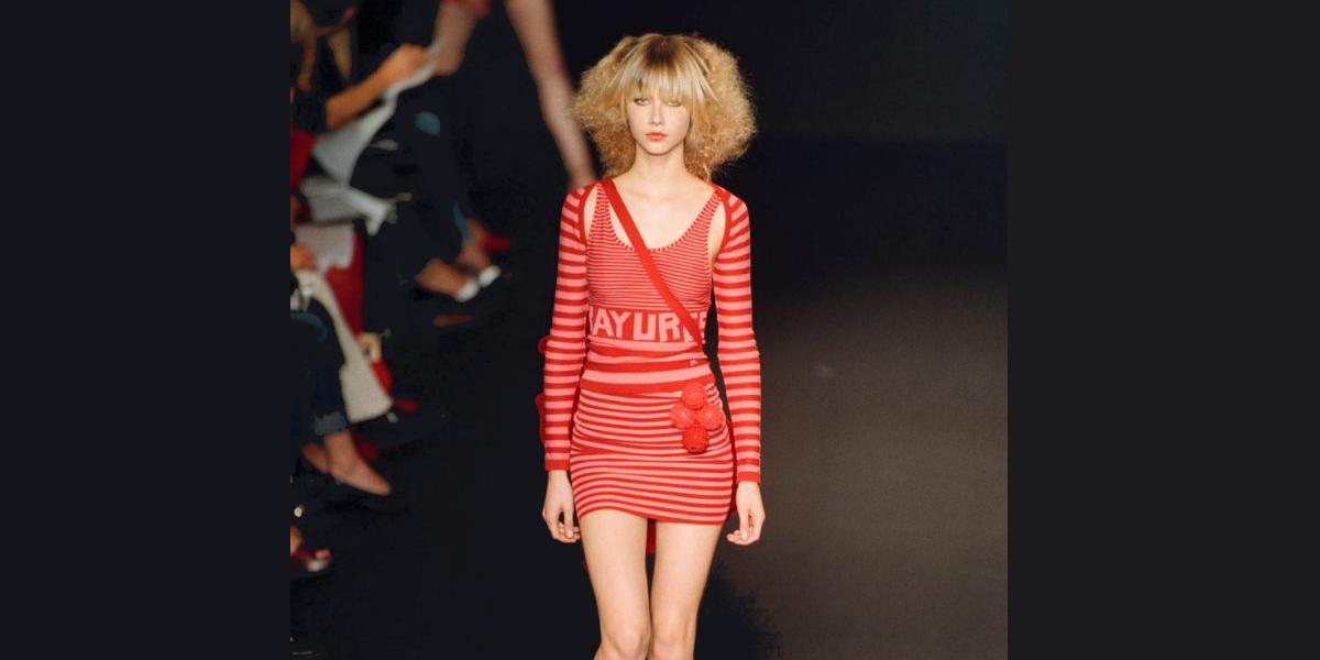 sonia rykiel 2002 spring fashion show