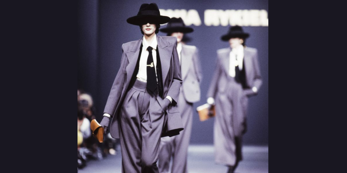 Sonia Rykiel 1989 Fall Fashion Show 2