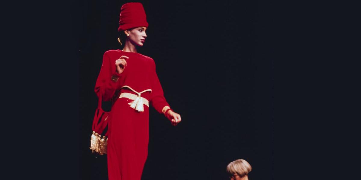 sonia rykiel 1989 spring fashion show