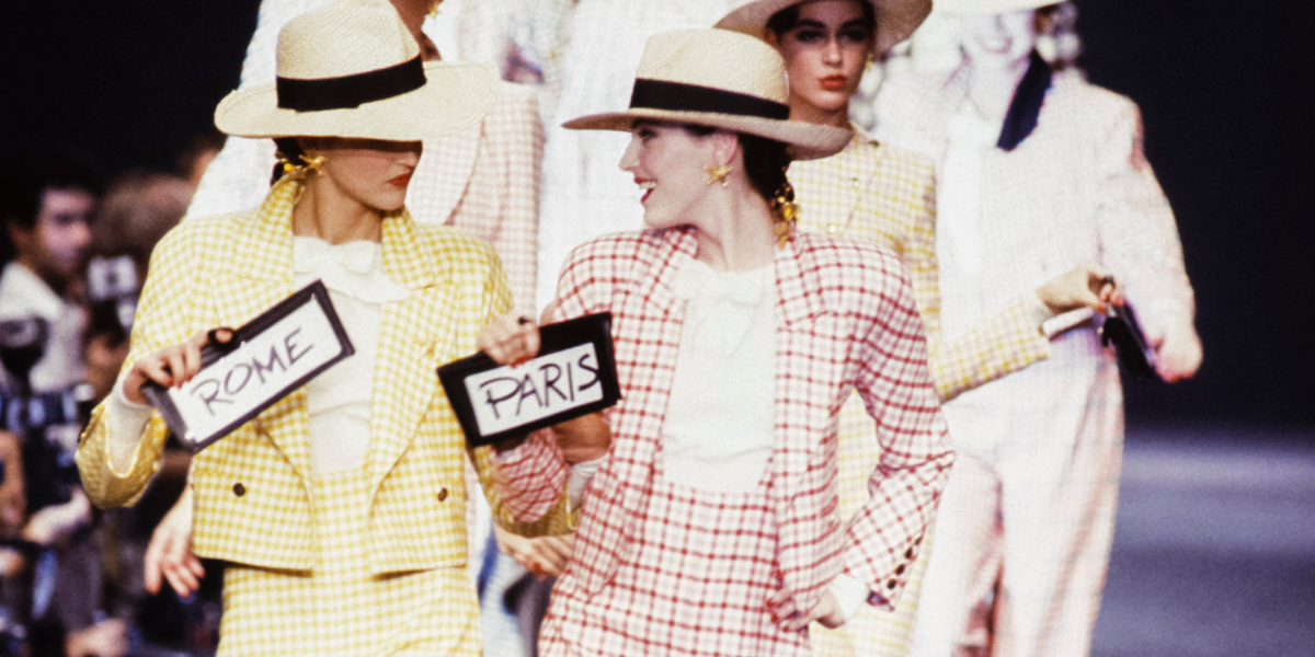 Sonia Rykiel 1988 Fashion Show
