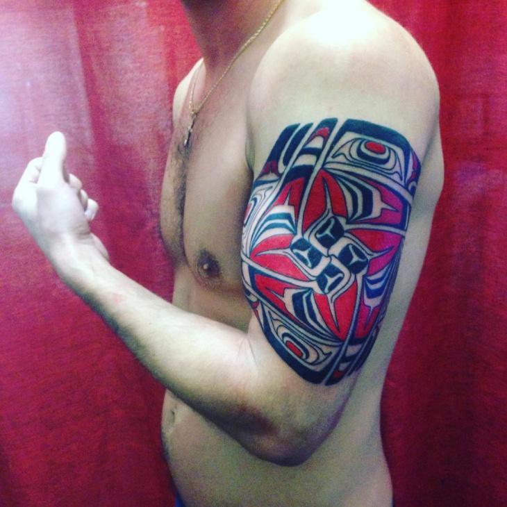 Haida Armband Tattoo