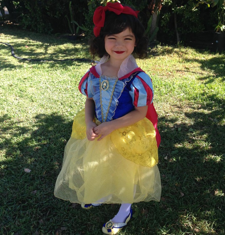 snow white makeup for kids