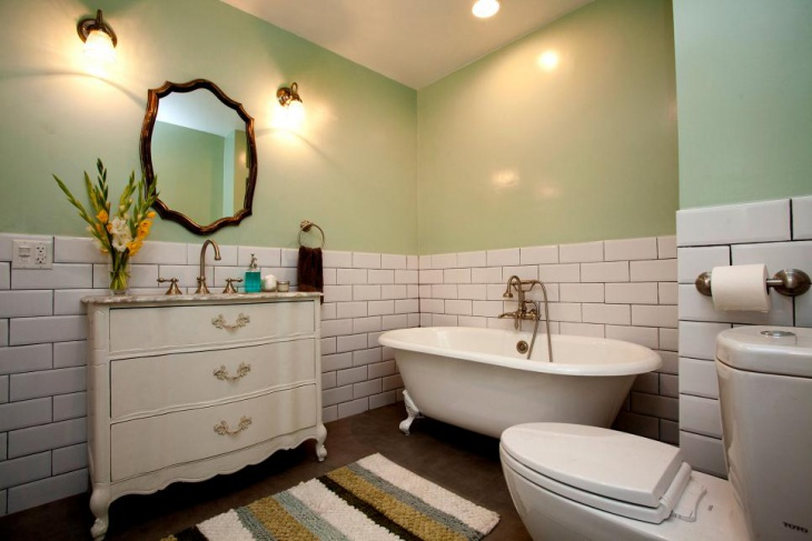 18 Subway Tile Bathroom Designs Ideas Design Trends