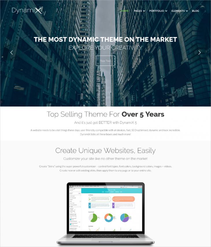 dynamic corporate woocommerce wordpress theme