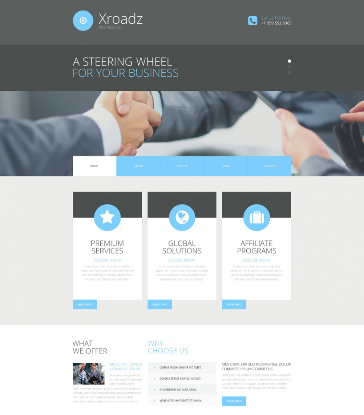 corporate business consultant wordpress theme1