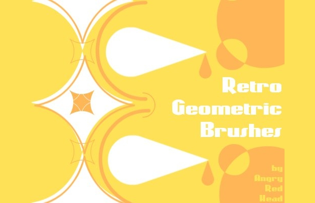 Geometric Retro Brushes