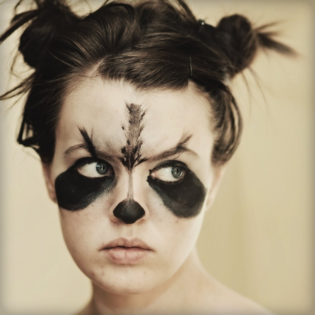 Rocket Raccoon Makeup Design