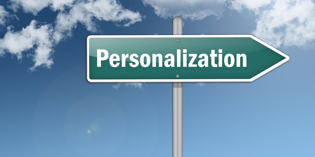 personalizing