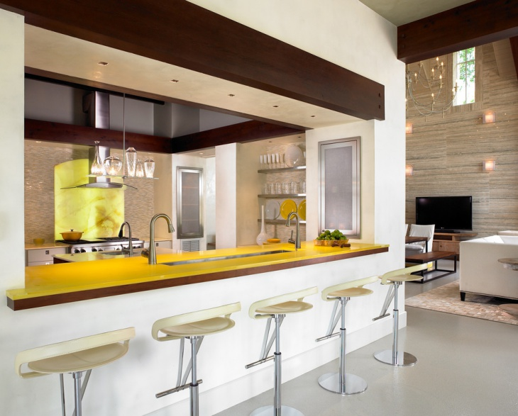 Contemporary Kitchen Wall Panel