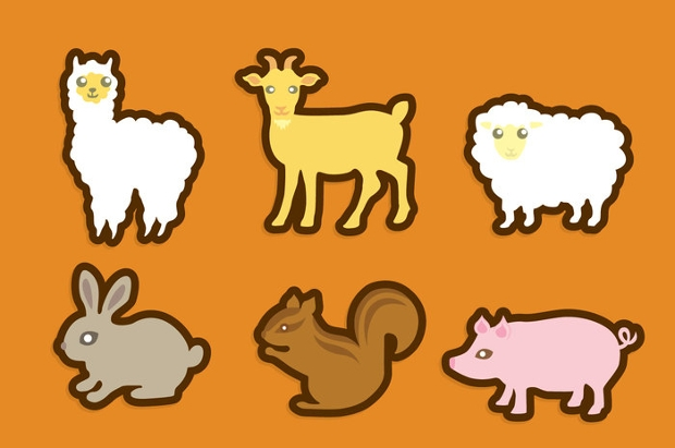 high resolution animal icon set1