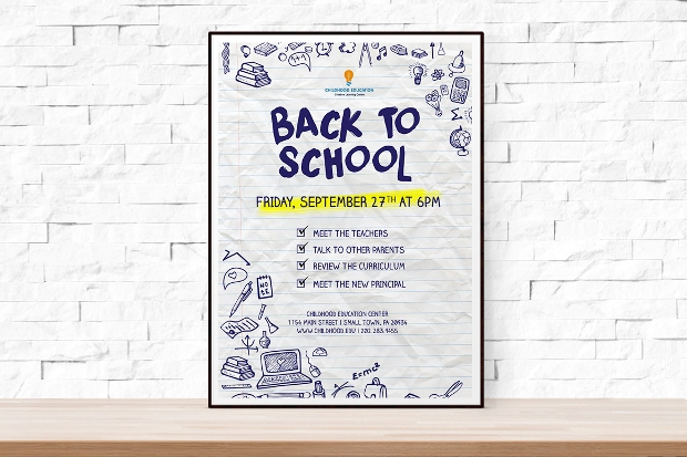 School Event Flyer Design
