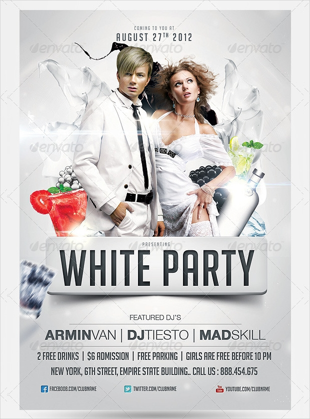 Professional Party Flyer Design