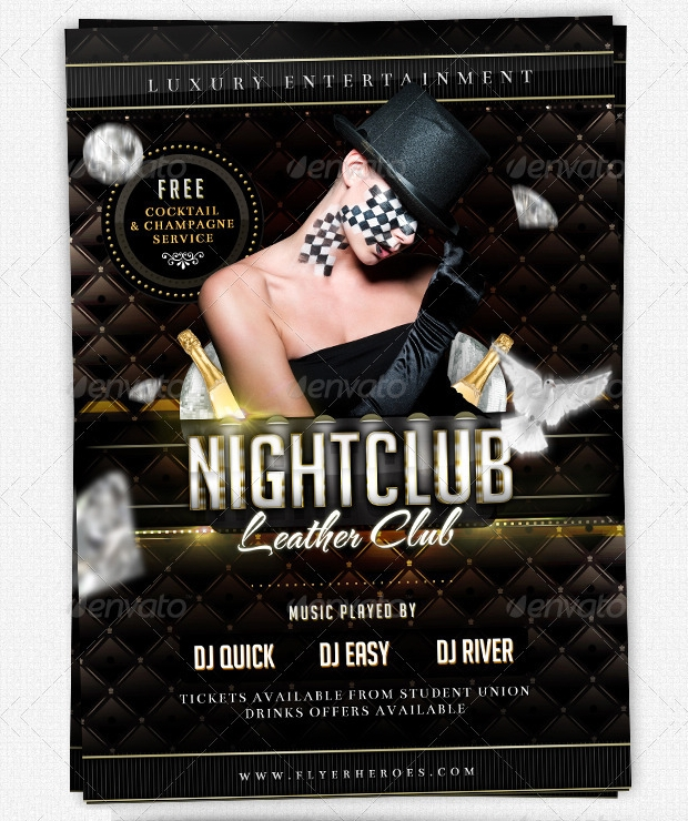 nightclub flyer design