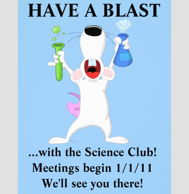 science club flyer design
