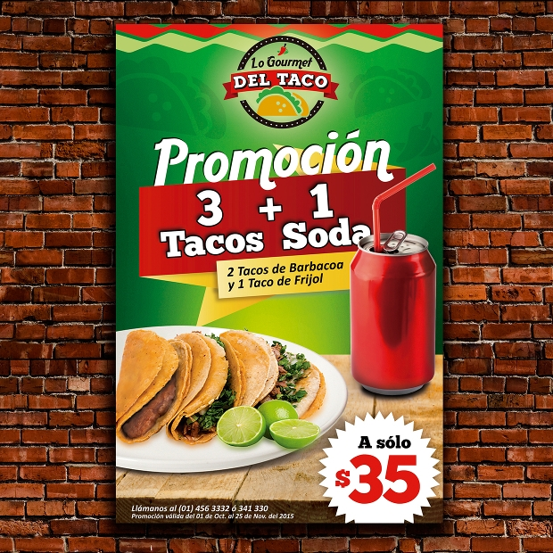 Mexican Restaurant Flyer Design