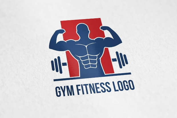 gym fitness logo template