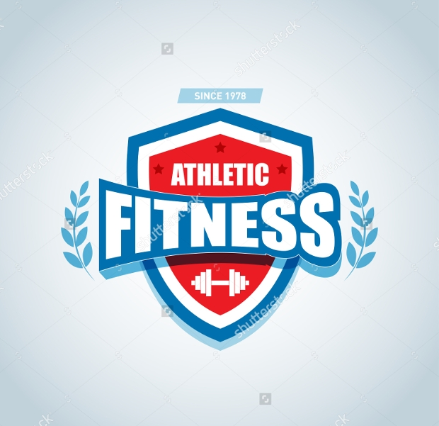 Monochrome Fitness Logo