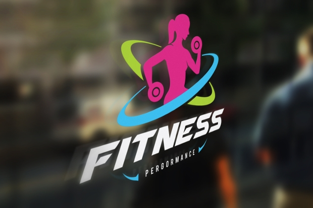 high resolution fitness logo design