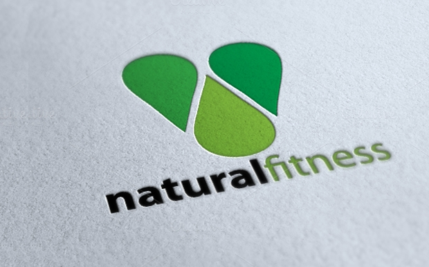 natural fitness logo