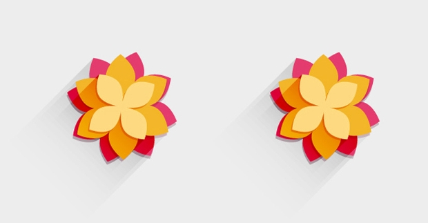 free decorative flower vector