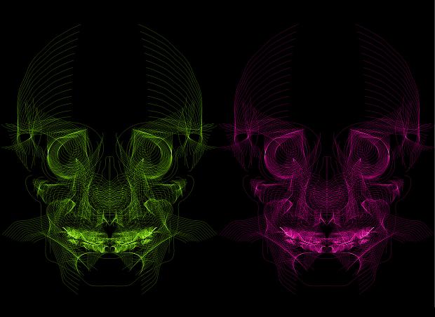line art vectors