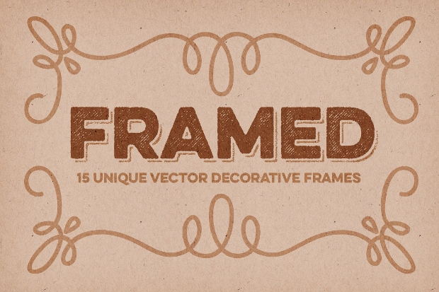 decorative frames vector1