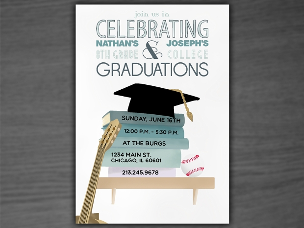 graduation party invitation design
