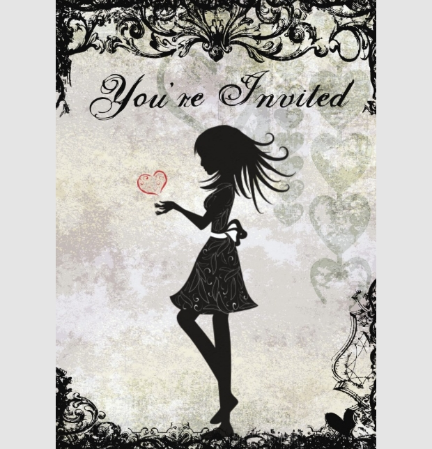 teen birthday invitation design