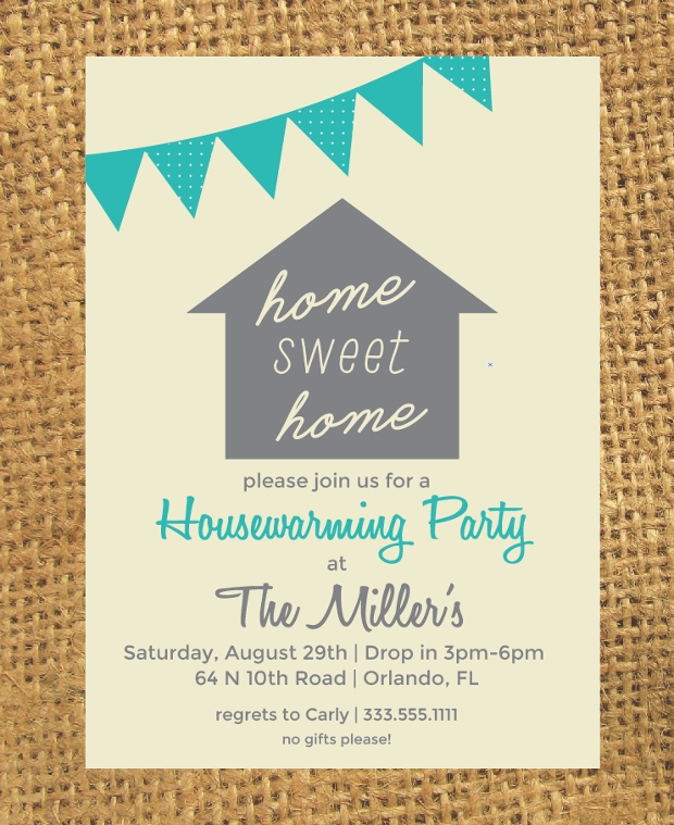 Housewarming Party Invitation Design