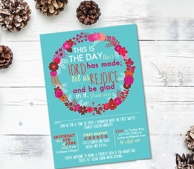 Non Profit Event Invitation Design