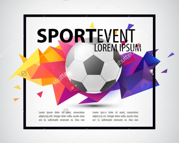 Sports Event Invitation Design